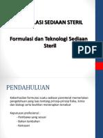 Formulasi Steril s1 Far 2018