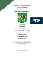 Portofolio 4 dr. Hendrik - Gastritis Erosiva.docx