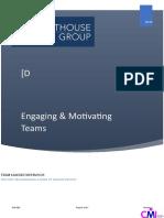 4. Engaging & Motivating Teams