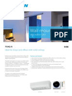 FXAQ-A Wall Mount Unit_948