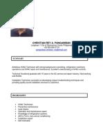 Panganiban Resume