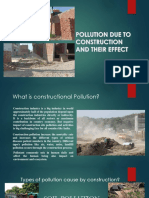 construction pollution