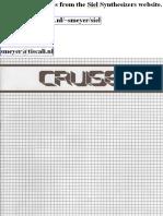 Siel Cruise Manual