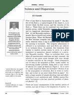 ks gandhi IISC turbulence and dispersion.pdf