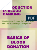Introduction to Blood Banking