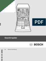 Bosch - Wahing Machiene