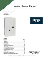 45 Medical Power Panels