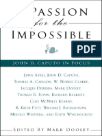 (SUNY Series in Theology and Continental Thought) Mark Dooley-A Passion for the Impossible_ John D. Caputo in Focus-State University of New York Press (2004).pdf