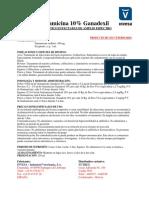 Gentamicina10G
