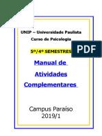 AC 2019 4 e 5 semestre unip
