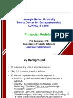 Financial Modeling - CMU - Compton 2-2-18
