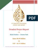 Detailed Project Report SRAM Studios Euros 50M