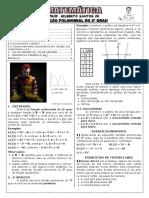 Apostila de Função Do 2º Grau (9 Páginas, 56 Questões, Com Gabarito)