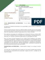 AP1541-2015 No Se Puede Extinguir Inasistencia Alimentaria Por Indemniacion Integral