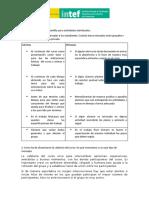 Plantilla Rúbrica Actividades Grupales