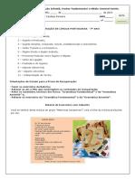 7o Ano Lingua Portuguesa Gabarito Da Bateria de Exercicios