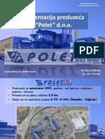 Polet 2018 Presentation