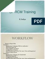 SF RCM Training