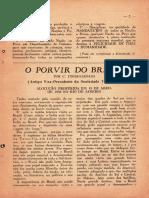 O Porvir Do Brasil - Jinarajadasa