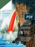 UN Environment 2016 Annual Report