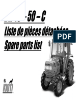 Kioti Daedong DK50C Tractor Parts Catalogue Manual.pdf