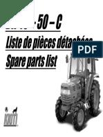 Kioti Daedong DK50C Tractor Parts Catalogue Manual.pdf