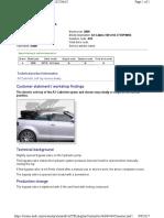 Noise Audi A3 cabrio roof