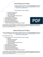 project guide and rubric