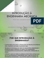Slide de introdução a Engenharia