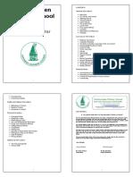 Primary School Prospectus sample