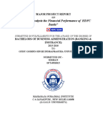 A Project Report on  Financial Performance based on Ratios at HDFC Bank simran.pdf