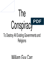 14695723 the Conspiracy to Destroy All Existing Governments and Religions