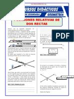Función de dos rectas Geometria