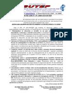 COMUNICADO Nº 47-2010-CEN-SUTEP