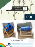 Marketing of compost bin