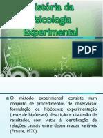 História Da Psicologia Experimental