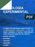 Introdução à Psicologia Experimental