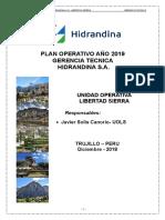 Plan Operativo Umd 2019