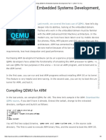 Using QEMU for Embedded Systems Development, Part 1 - LINUX for You