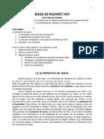 5. JESÚS de NAZARET HOY - José Antonio Pagola Documento Editado
