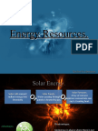 Energy Resources - Rachel Ecclestone