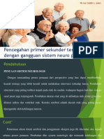 Pencegahan Prim, Sek Dan Ter Pd Lansia