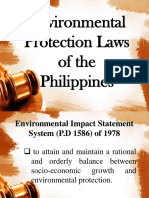 environmental protection laws of the philippines