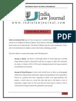 ILJ Editorial Policy