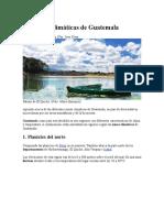 Las zonas climáticas de Guatemala.docx