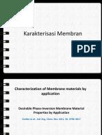 Mambrane Characterization 2