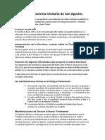 doctrina trinitaria de San Agustin.docx
