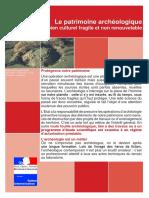 Patrimoine Archeologique_brochure Dgpat_bien Fragile
