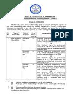 DRDO Recruitment Notice 08 04