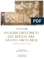 Analisis Historico Del Ritual Del Santo Arco Real